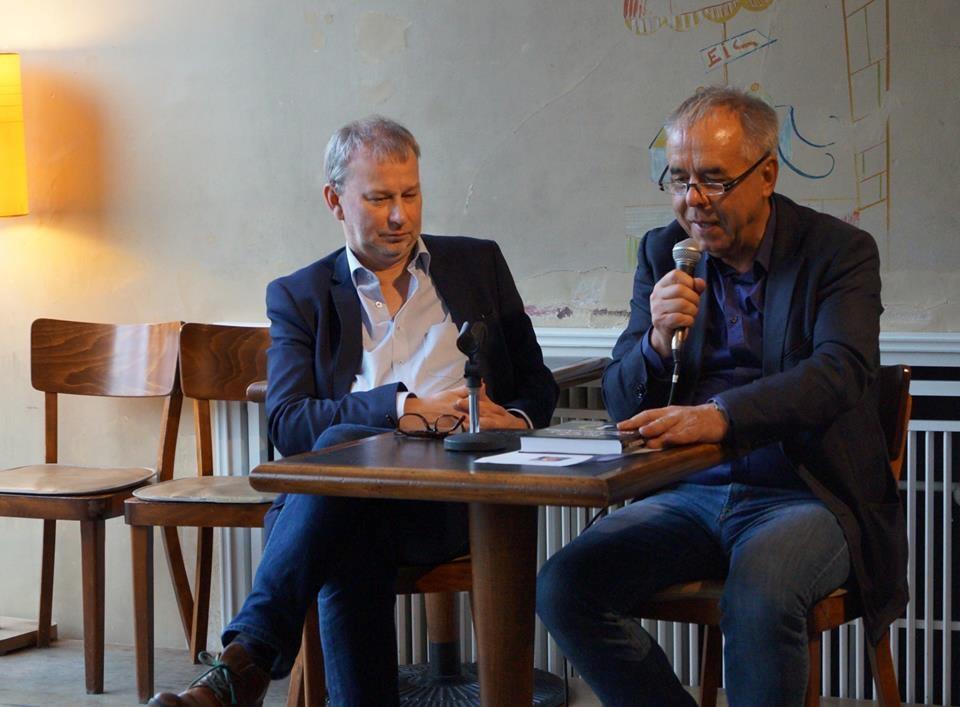 Andre Schulz in der Emanuel-Lasker-Gesellschaft