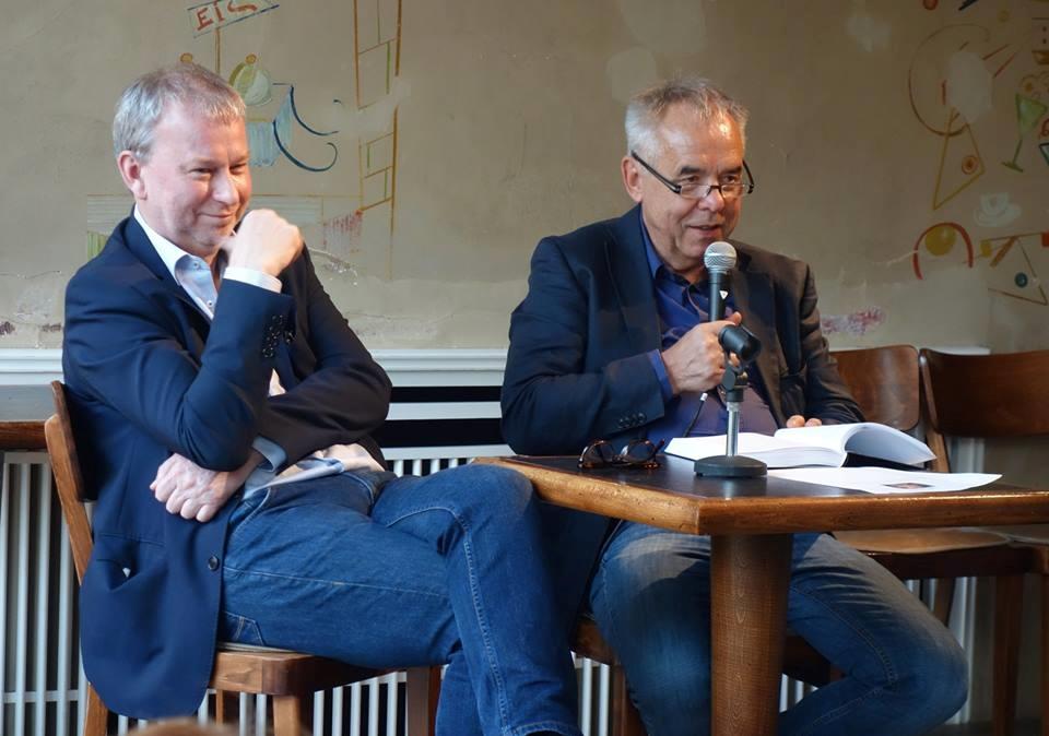 André Schulz und Paul Werner Wagner: Talk im Café Sibylle