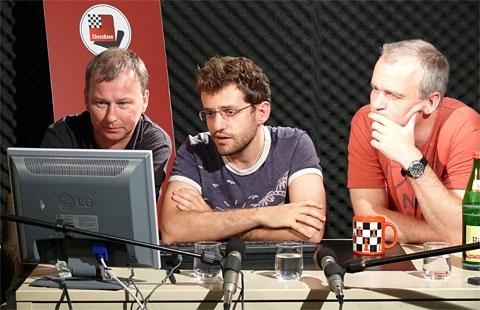 Levon Aronian bei TV ChessBase