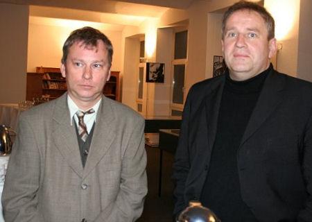 André Schulz und Matthias Deutschmann
