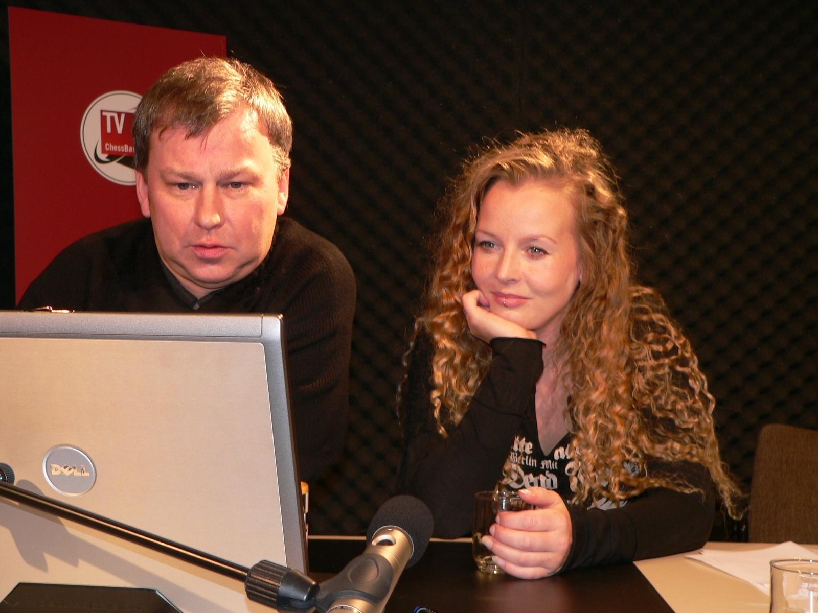 Vaile Fuchs bei TV ChessBase