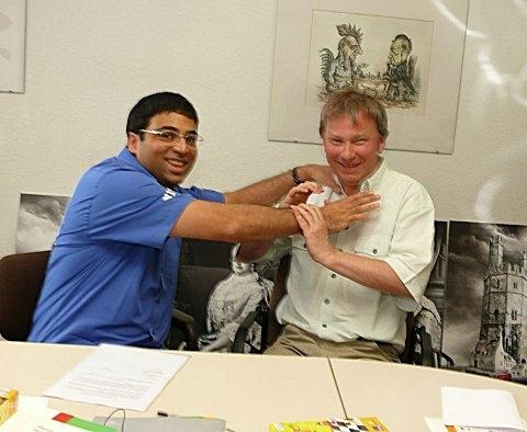 Spaß mit Viswanathan Anand