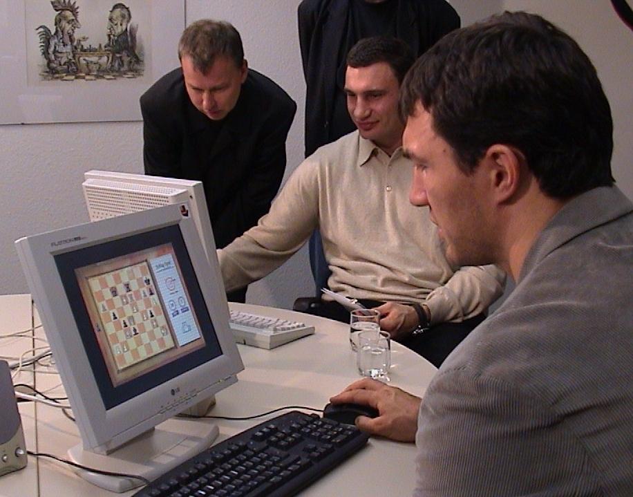 André Schulz, Vitaly und Wladimir Klitschko