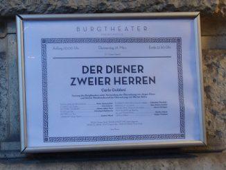 Wiener Burgtheater Diener zweiter Herren